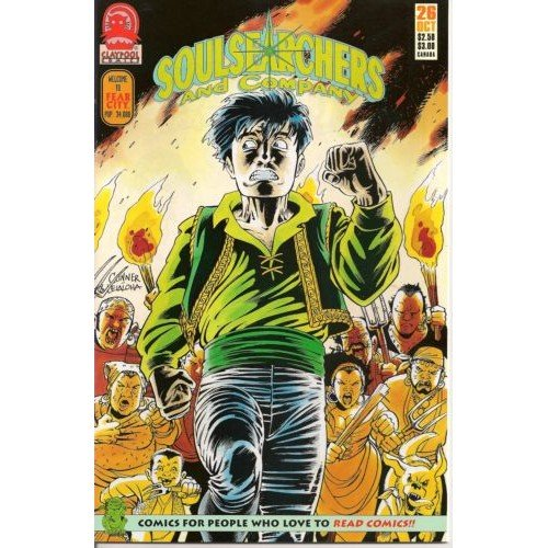 Soulsearchers and Company #26 (Comic Book) - Claypool Comics