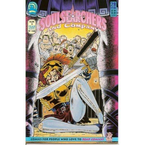 Soulsearchers and Company #28 (Comic Book) - Claypool Comics