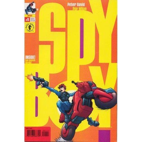 Spyboy #1 (Comic Book) - Dark Horse Comics - Peter David & Pop Mhan