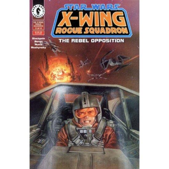 Star Wars: X-Wing Rogue Squadron #3 (Comic Book) - Dark Horse Comics - Michael A. Stackpole