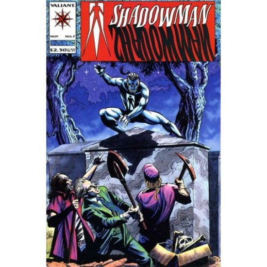 Shadowman Vol. 1 #7 (Comic Book) - Valiant