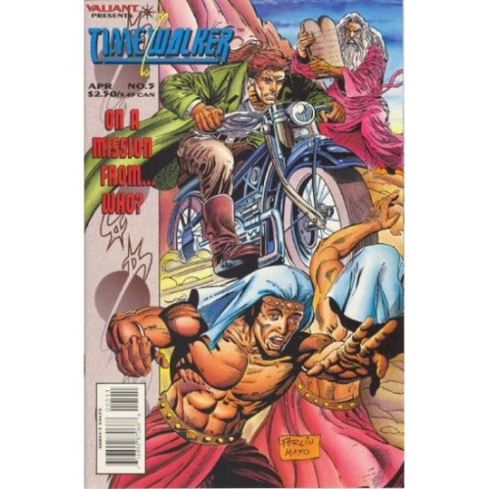 Timewalker #5 (Comic Book) - Valiant