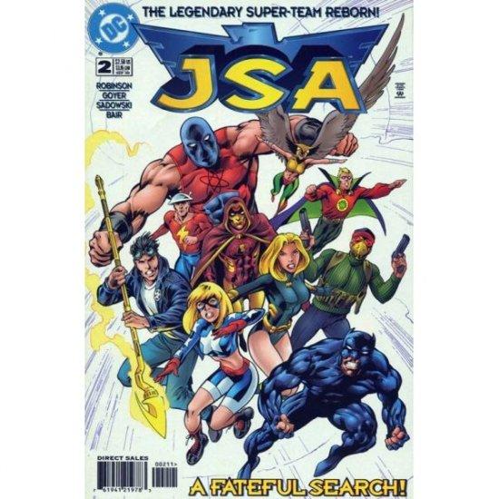 JSA #2, DC Comics - David S. Goyer and James Robinson (Comic Book)