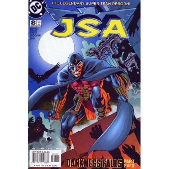 JSA #8, DC Comics - Geoff Johns and David S. Goyer (Comic Book)