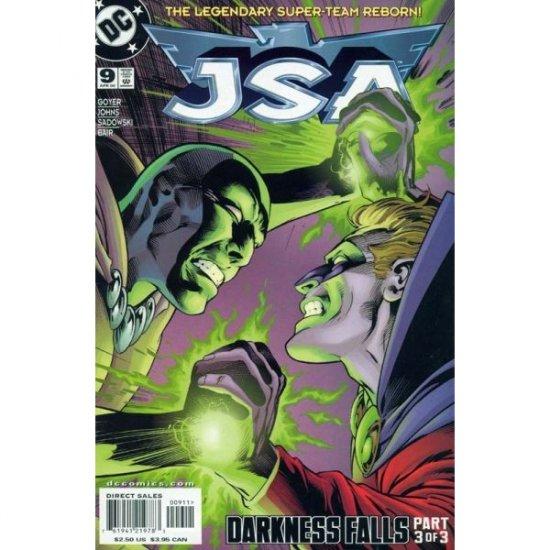 JSA #9, DC Comics - Geoff Johns and David S. Goyer (Comic Book)