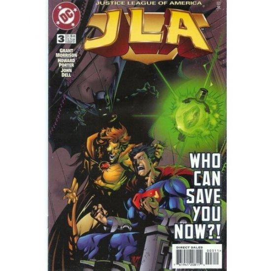 JLA #3 (Comic Book) - DC Comics - Grant Morrison, Howard Porter & John Dell