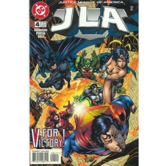 JLA #4 (Comic Book) - DC Comics - Grant Morrison, Howard Porter & John Dell