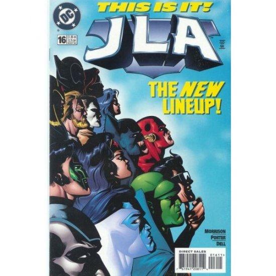 JLA #16 (Comic Book) - DC Comics - Grant Morrison, Howard Porter & John Dell