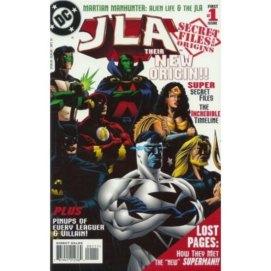 JLA Secret Files and Origins #1 (Comic Book) - DC Comics
