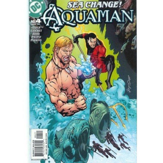 Aquaman, Vol. 6 #4 (Comic Book) - DC Comics - Rick Veitch, Yvel Guichet, Mark Propst