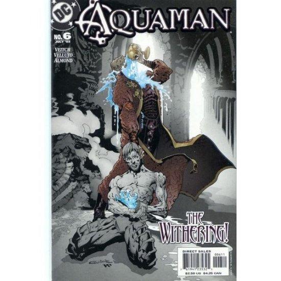 Aquaman, Vol. 6 #6 (Comic Book) - DC Comics - Rick Veitch, Sal Vellutto and Bob Almond