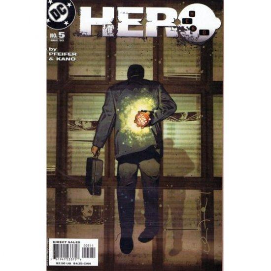H-E-R-O #5 (Comic Book) - DC Comics - by Will Pfeifer & Kano (Hero)