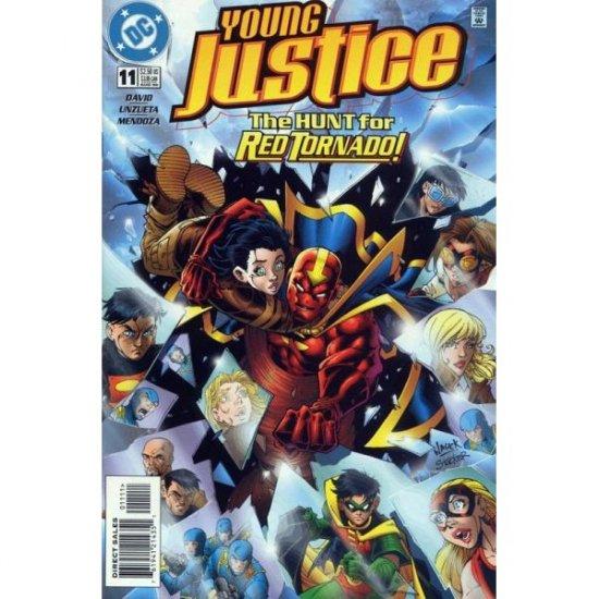 Young Justice #11 (Comic Book) - DC Comics - by Peter David, Angel Unzueta, Lary Stucker