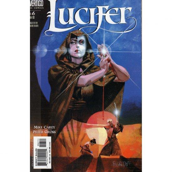 Lucifer #6 (Comic Book) - DC Vertigo - Mike Carey & Peter Gross