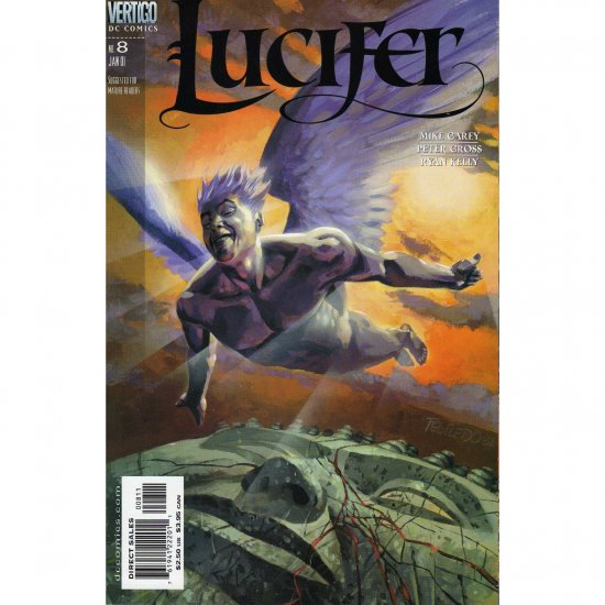 Lucifer #8 (Comic Book) - DC Vertigo - Mike Carey & Peter Gross