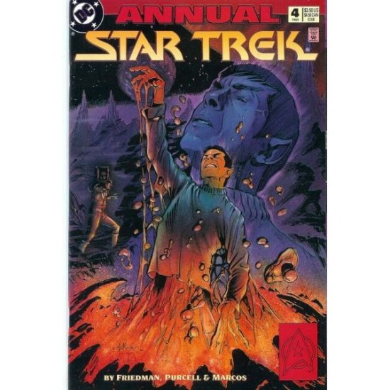 Star Trek, Vol. 2 Annual #4 (Comic Book) - DC Comics - Friedman, Purcell & Marcos