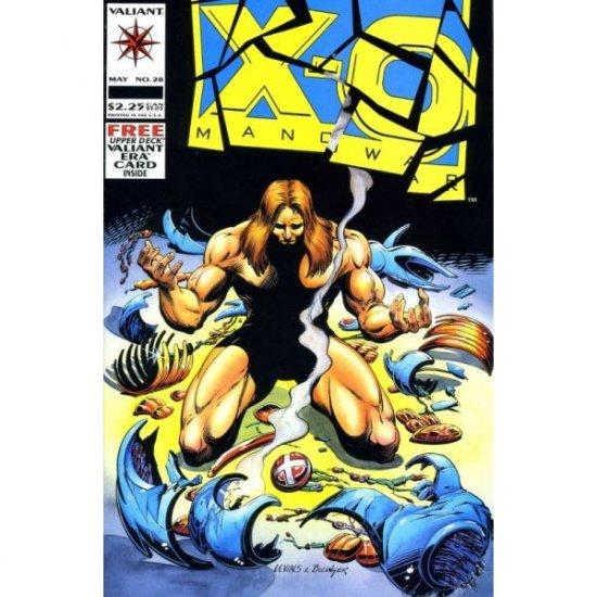 X-O Manowar, Vol. 1 #28 (No card) (Comic Book) - Valiant