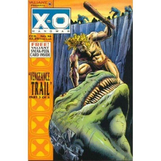 X-O Manowar, Vol. 1 #36 (No card) (Comic Book) - Valiant