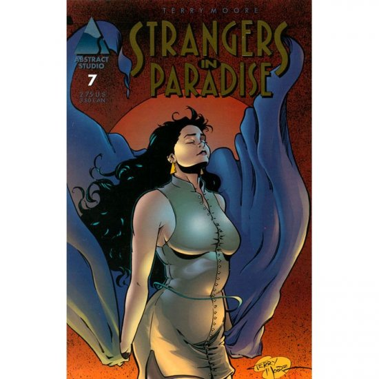 Strangers in Paradise, Vol. 2 #7 (Gold Logo Reprint) (Comic Book) - Abstract Studio