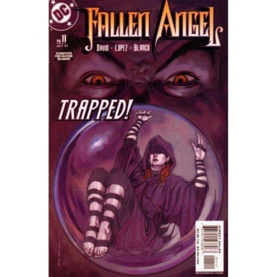 Fallen Angel, Vol. 1 #11 (Comic Book) - DC Comics - Peter David, David Lopez & Fernando Blanco