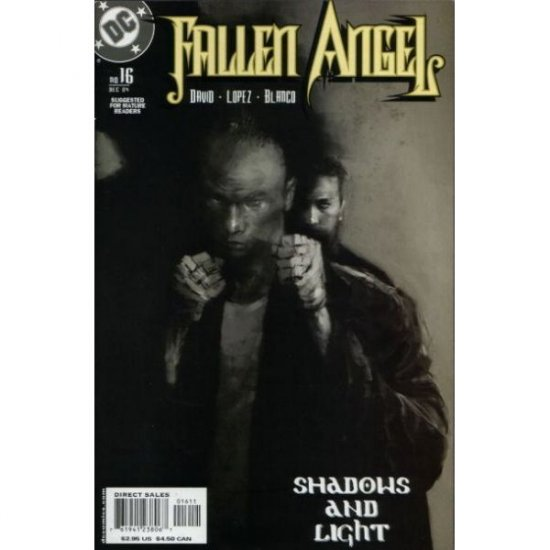 Fallen Angel, Vol. 1 #16 (Comic Book) - DC Comics - Peter David, David Lopez & Fernando Blanco