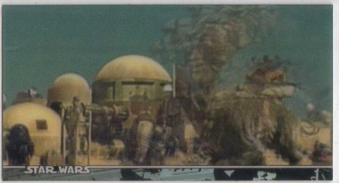 Star Wars Trilogy SE Multi Motion 3D Promo Card 2m (Topps) Trading Card
