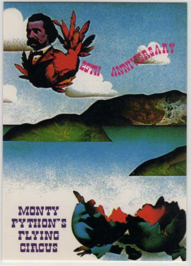 Monty Python's Flying Circus Promo Trading Card P2 (Cornerstone Communications)