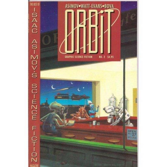 Orbit #2 (Comic Book) - Eclipse Comics - Asimov, Bova, Watt-Evans