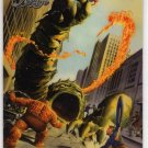 Marvel: The Silver Age Promo Card (SkyBox) featuring Fantastic Four - art by Alex Ross