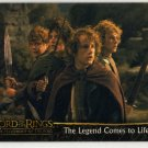 Lord of the Rings: Fellowship of the Ring Promo Card P2 (Topps) - Hobbits