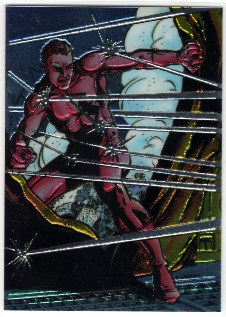 Valiant Unity Rookie Chromium Chase Card (Comic Images) - featuring Screen (Harbinger)