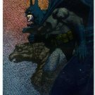 Batman Saga of the Dark Knight: Spectra-Etch Card B4 (SkyBox) by John Bolton; Portraits of Batman