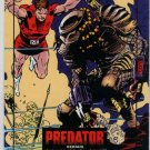 Predator Versus Magnus Robot Fighter #3 Autographed Trading Card (Wizard) art by Lee Weeks