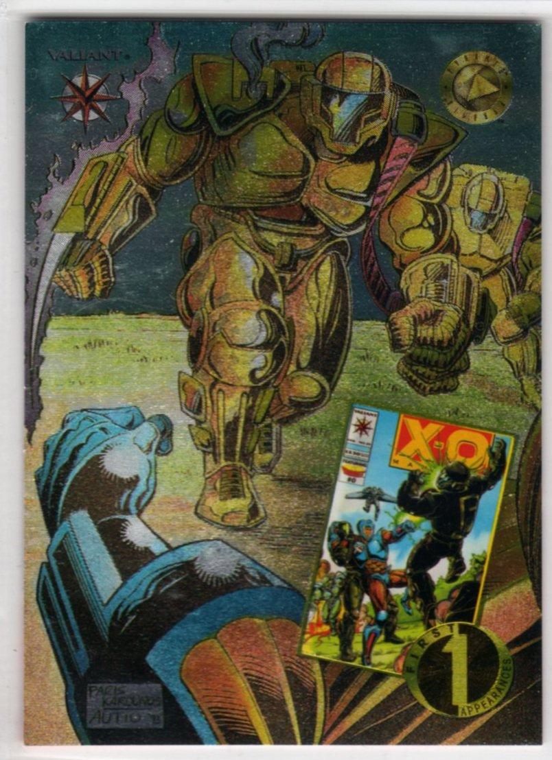 Valiant Era FA16 First Appearances Chase Card (Upper Deck) - Armorines / X-O Manowar