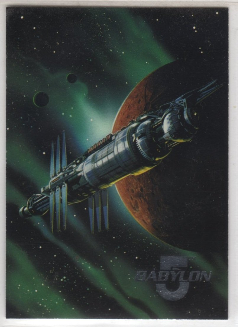 Babylon 5 Series One Space Gallery 1 of 8 Chase Card (Fleer Ultra) - Station
