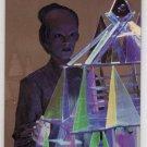Babylon 5 Series One Prismatic Foil 6 of 8 Chase Card (Fleer Ultra) - Delenn