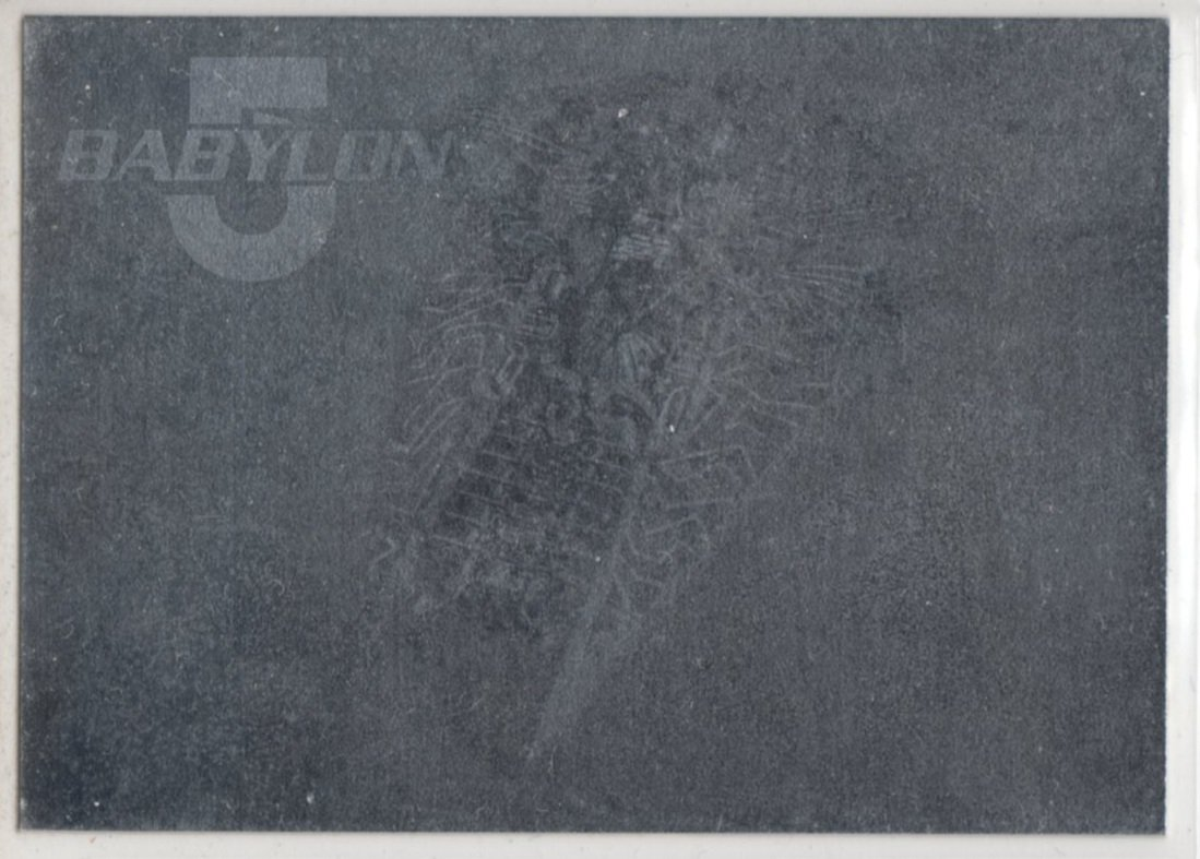 Babylon 5 Series One Hologram 3 of 8 Chase Card - Rare - (Fleer Ultra) -  Narn Warship