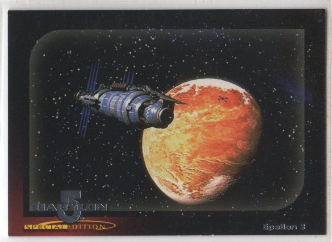 Babylon 5 Special Edition Worlds of Babylon 5 Chase Card W1 (SkyBox)