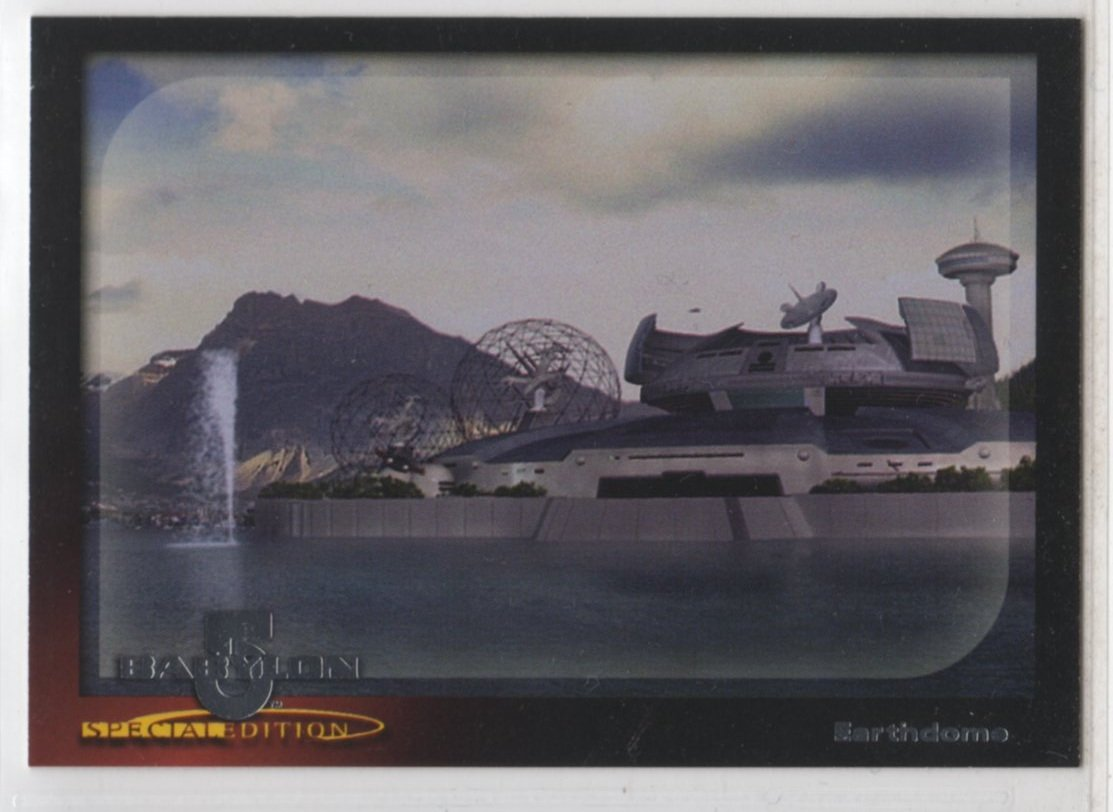 Babylon 5 Special Edition Worlds of Babylon 5 Chase Card W2 (SkyBox)
