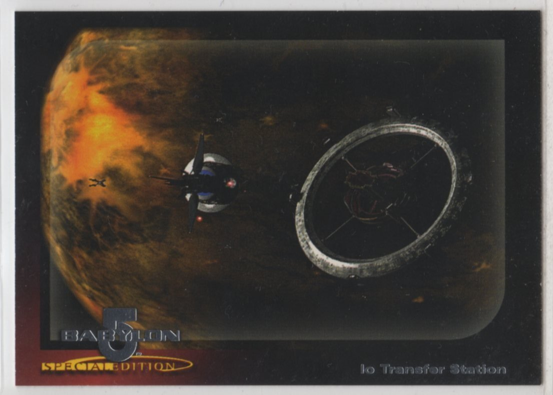 Babylon 5 Special Edition Worlds of Babylon 5 Chase Card W3 (SkyBox)