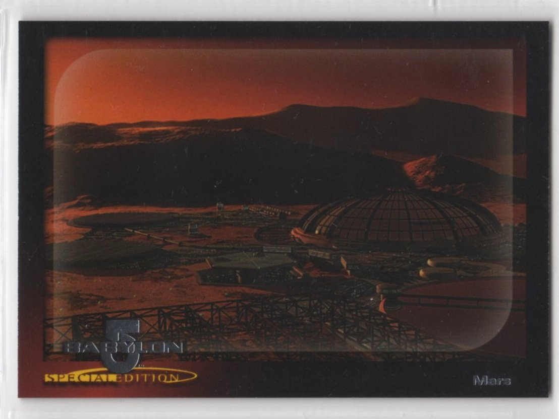 Babylon 5 Special Edition Worlds of Babylon 5 Chase Card W4 (SkyBox)