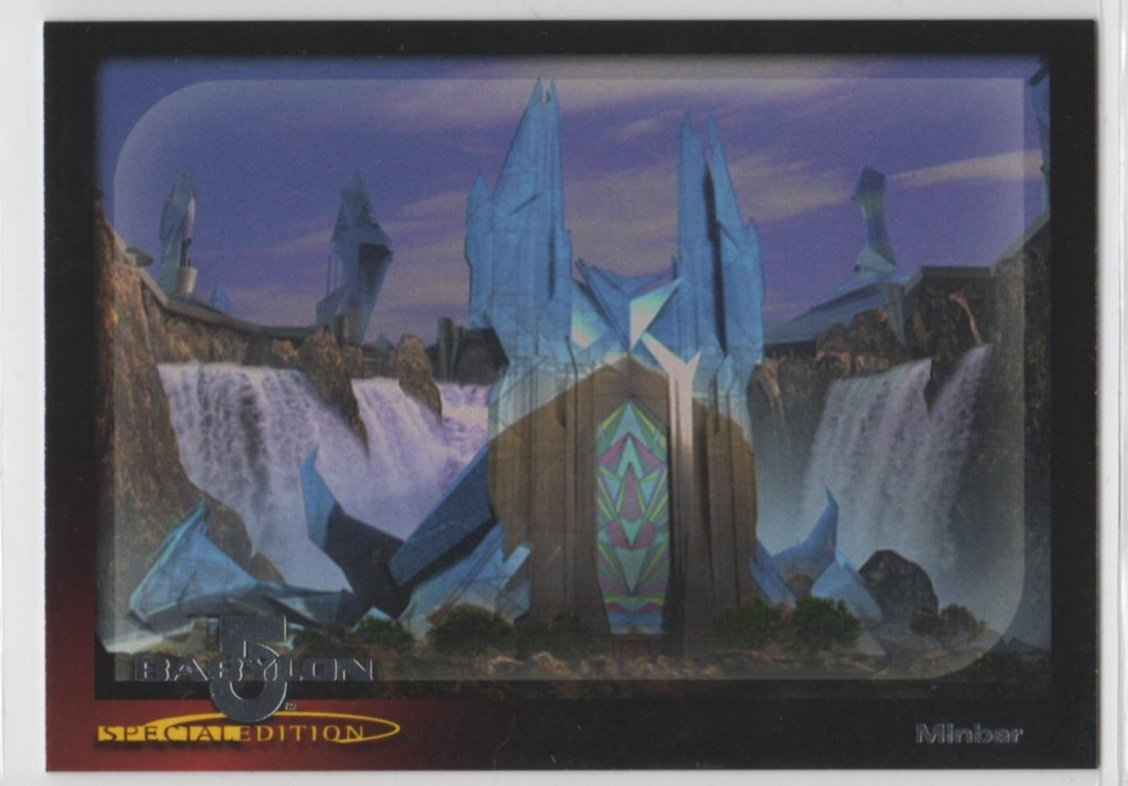 Babylon 5 Special Edition Worlds of Babylon 5 Chase Card W6 (SkyBox)
