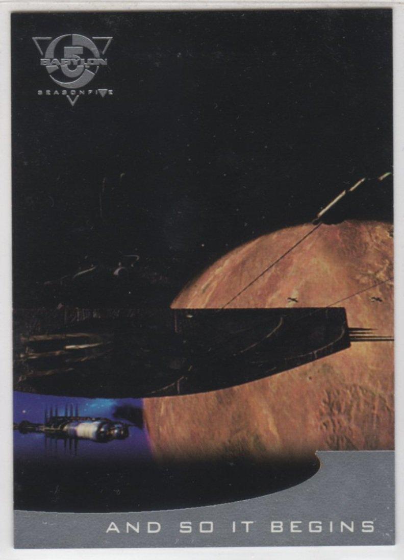 Babylon 5 Season 5 Chase Card T2 (SkyBox) - Thirdspace