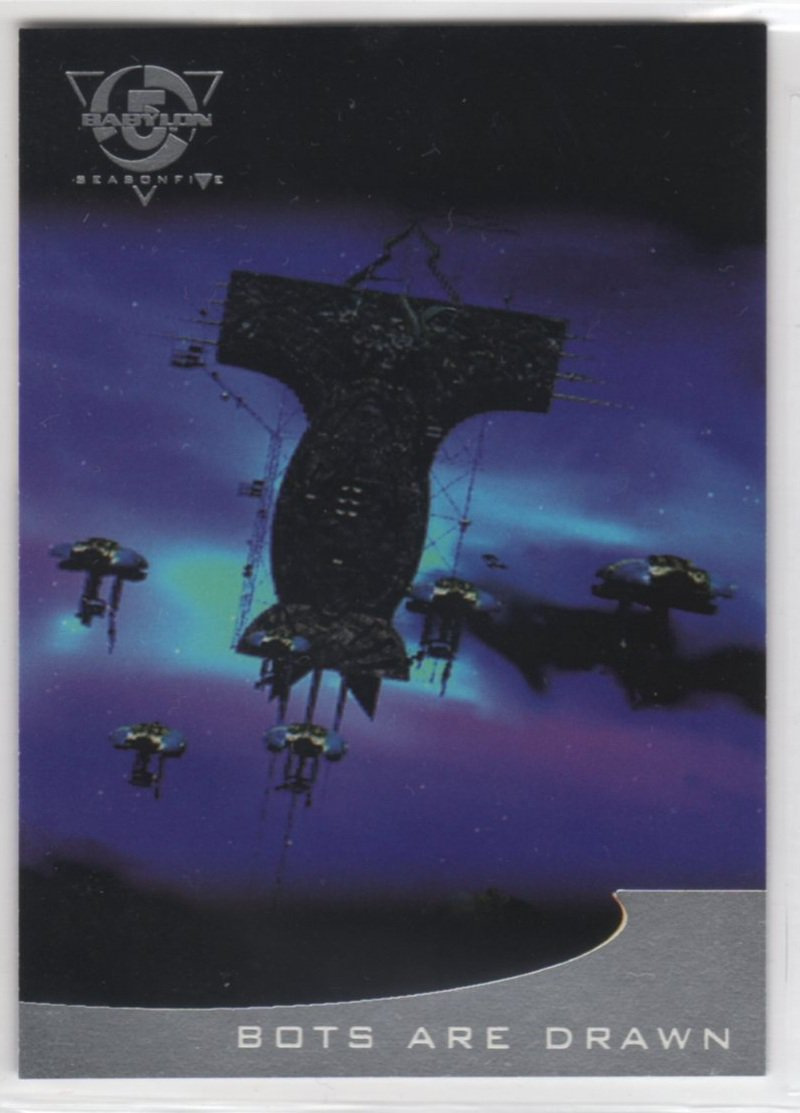 Babylon 5 Season 5 Chase Card T4 (SkyBox) - Thirdspace
