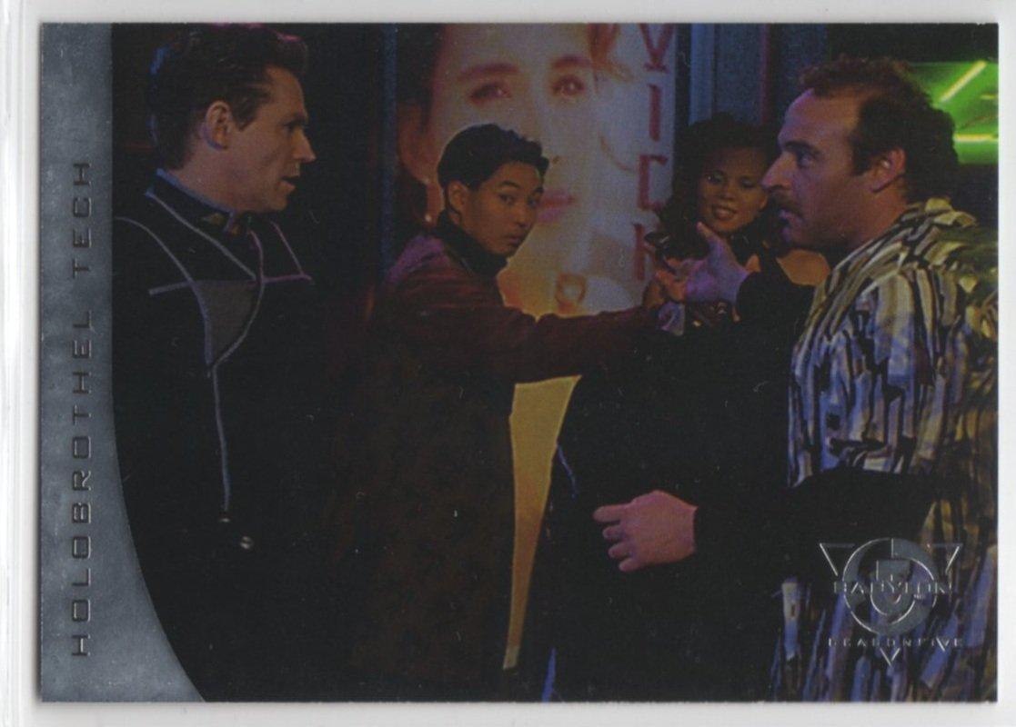 Babylon 5 Season 5 Chase Card R5 (SkyBox) - River of Souls