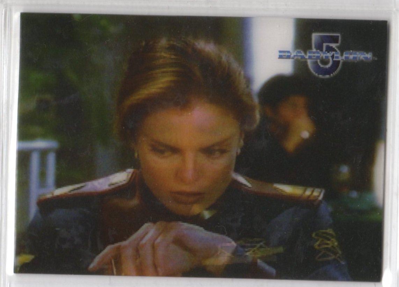 Complete Babylon 5 Lenticular Chase Card W13 (Rittenhouse) - Women of Babylon 5 - Tracy Scoggins