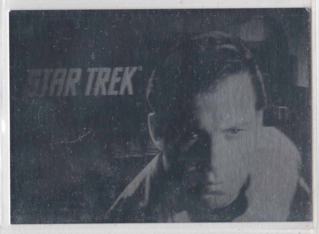 Star Trek Series Two 25th Anniversary Hologram Chase Card H3 (Impel) - James T. Kirk