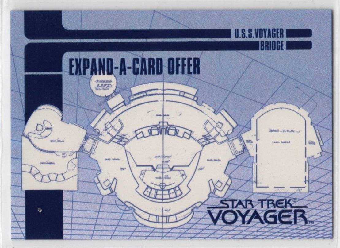 Star Trek Voyager Expand-A-Card X2 (SkyBox)