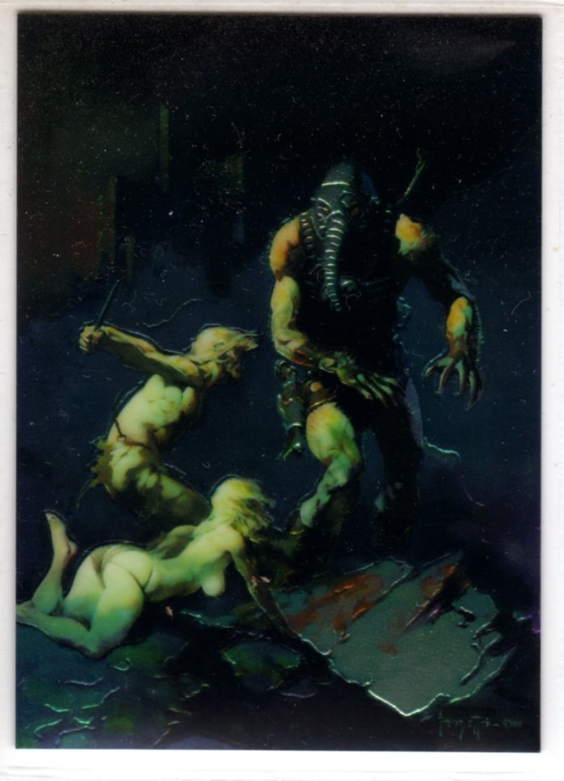 Science Fiction Art of L. Ron Hubbard Chase Card C1 (Comic Images) - Frank Frazetta - Trading Cards