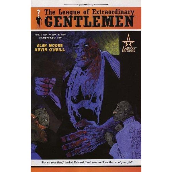 League of Extraordinary Gentlemen Vol 1 #4 (Comic Book) - DC Comics - Alan Moore, Kevin O'Neill